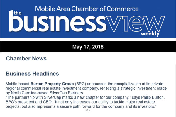 Mobile Area Chamber of Commerce: Business Headlines Mobile