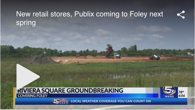 New retail stores, Publix coming to Foley next spring