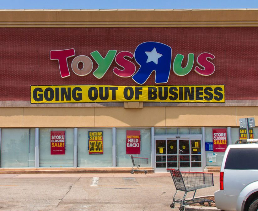 Saying goodbye to Toys R Us