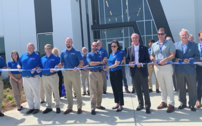 Continental Motors now Continental Aerospace Technologies, cuts ribbon on new manufacturing facility